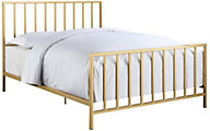 Accentrics Home Modern Home King Slat Bed