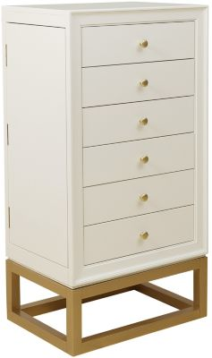 Accentrics Home Modern Home Jewelry Chest