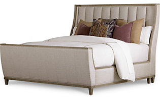 A.R.T. Furniture Cityscapes Chelsea Upholstered King Sleigh Bed