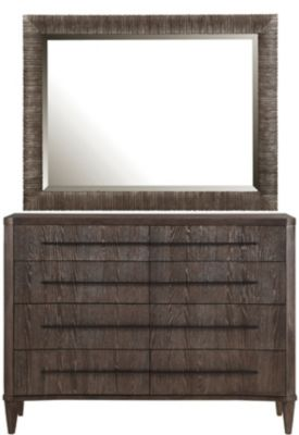 A.R.T. Furniture Geode Dresser with Mirror