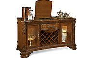 A.R.T. Furniture Old World Buffet With Wine Rack