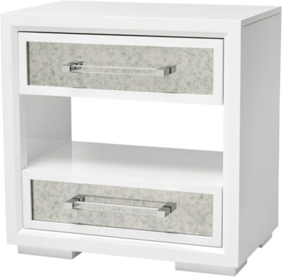A.R.T. Furniture Epicenters White Open Nightstand