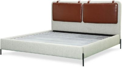 A.R.T. Furniture Bobby Berk King Leather Upholstered Bed