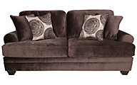 Albany Industries 8642 Collection Chocolate Sofa