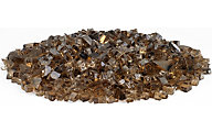 American Fireglass Firepit Glass Copper Reflective Glass 10 Lb