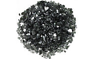 American Fireglass Calo Firepit Glass Black Reflective Glass 10 Lb