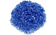 American Fireglass Calo Firepit Glass Cobalt Blue Glass 10 Lb Jar