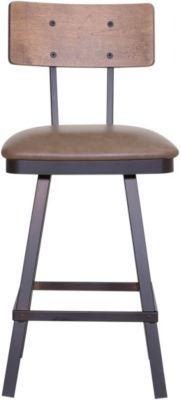 Amisco Norcross Swivel Stool