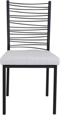 Amisco Crescent Side Chair