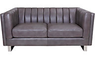 Amax Leather Westbury 100% Leather Loveseat
