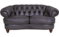 Amax Leather Nottingham 100% Leather Loveseat