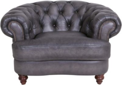 Amax Leather Nottingham 100% Leather Chair