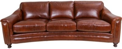Amax Leather Billingham 100% Leather Sofa