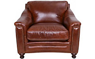 Amax Leather Billingham 100% Leather Chair