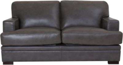 Amax Leather Rockville 100% Leather Loveseat
