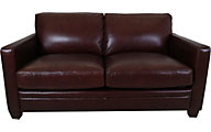Amax Leather Como 100% Leather Loveseat