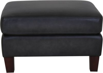 Amax Leather Savannah 100% Leather Ottoman
