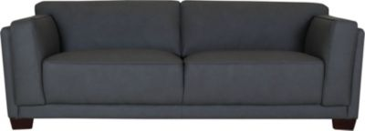 Plaza 100% Leather Sofa