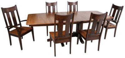 Daniel's Amish Millsdale 7-Piece Dining Set