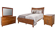 Daniel's Amish Bedfort 4-Piece King Bedroom Set