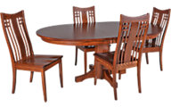 Daniel's Amish Table & 4 Chairs