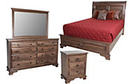Daniel's Amish Classic 4-Piece Queen Bedroom Set