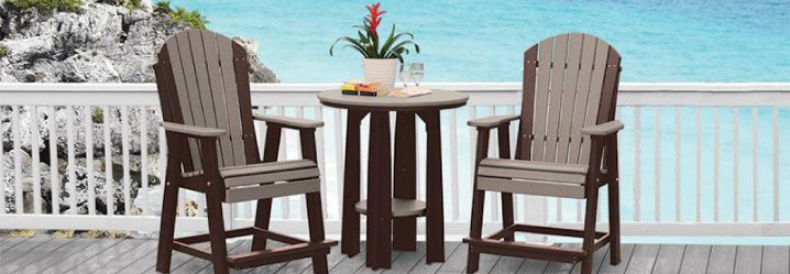 outdoor bar stools and patio dining chairs