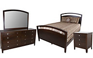 Daniel's Amish Nouveau 4-Piece Queen Bedroom Set