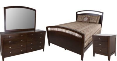 Daniel's Amish Nouveau 4-Piece King Bedroom Set