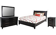 Daniel's Amish Metropolitan 4-Piece Queen Bedroom Set