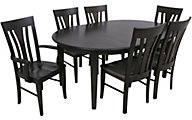 Daniel's Amish Dara 7-Piece Dining Set