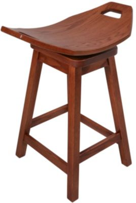 Daniel's Amish Mission Swivel Counter Stool