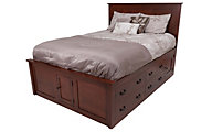 Daniel's Amish Treasures King Storage Bed