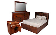 Daniel's Amish New Mission King Bedroom Set