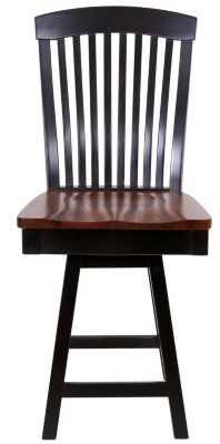 Daniel's Amish Empire Swivel Counter Stool