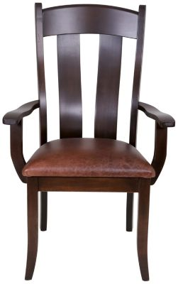 Daniel's Amish Live Edge Arm Chair