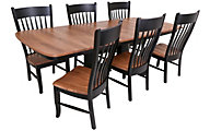 Daniel's Amish Solid Maple Table & 6 Chairs
