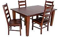 Daniel's Amish Solid Cherry Table & 4 Chairs