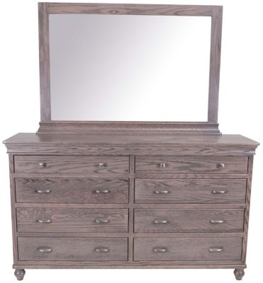 Daniel's Amish Cottage Dresser with Mirror