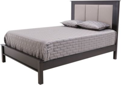 Daniel's Amish Mapleton Queen Tri-Panel Upholstered Bed