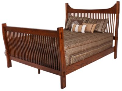 Daniel's Amish New Mission Queen Bed