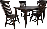 Daniel's Amish Cocoa 5-Piece Dining Set