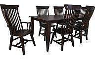 Daniel's Amish Cocoa 7-Piece Dining Set