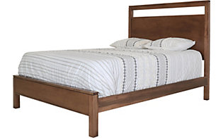 Daniel's Amish Modern Queen Panel Bed