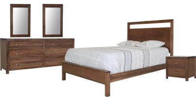 Daniel's Amish Modern 5-Piece Queen Bedroom Set