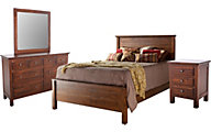 Daniel's Amish Lewiston King Bedroom Set