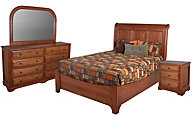 Daniel's Amish Victorian 4-Piece Queen Bedroom Set