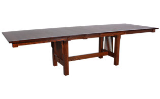 Daniel's Amish Mission Trestle Table