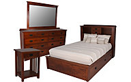 Daniel's Amish New Mission 4-Piece King Bedroom Set