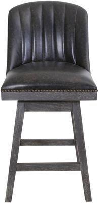 Armen Living Journey Swivel Counter Stool